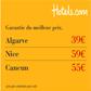 Hôtels.com : Des promos voyage au soleil : Algarve 39 €, Nice 59 €, Cancun 55 €