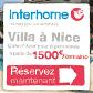 Location de villa à Nice pour 8 personnes à partir de 1500€