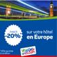 Voyages-sncf.com : Codes promos et réductions sur les nuits d'Hôtels
