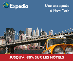 EXPEDIA : Jusqu'à 30% d'économies sur les hôtels
