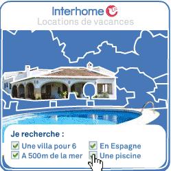 INTERHOME : Vos vacances sur mesure