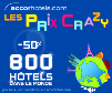 ACCORHOTELS : Vente flash Crazy Prices du 10 au 16 juin