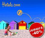 HOTELS.com : Soldes d'été jusqu'à 40% d'économies