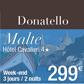 DONATELLO : Séjour à Malte à seulement 299 euros TTC