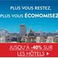 EXPEDIA : Jusqu'à 40% de réduction sur les hôtels
