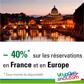 VOYAGES SNCF : Des hôtels à petits prix jusqu'à 50% de réduction