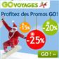 GO VOYAGES : Jusqu'à 25% de réduction pour Noel au ski