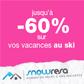 SNOWRESA : Jusqu'à 60% de réduction sur votre séjour au ski
