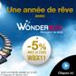 WONDERBOX : 5% de réduction pour toute commande