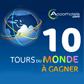 ACCORHOTELS : Gagnez un Tour du Monde ou un séjour