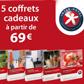 INTER-HOTEL : 5 coffrets cadeaux à partir de 69 euros