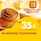 P'tit Dej-HOTEL : A partir de 35 euros la nuit pour 2 personnes