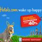 HOTELS.COM : Jusqu'à 40% d'économies sur votre hôtel pour Pâques
