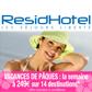 RESIDHOTEL : La semaine pour les vacances de Pâques à 249 euros