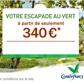 CENTER PARCS : Votre séjour à partir de 385 euros