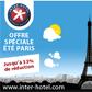 INTER HOTEL : 1 nuit d'hôtel offerte pour tout séjour de 3 ou 4 nuits à Paris