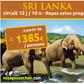 VOYAGES AUCHAN : Un circuit de 12 jours et 10 nuits au Sri Lanka à partir de 1385 euros