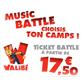 WALIBI : Le ticket à partir de 17,50 euros spécial nocturnes musicales