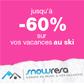 SNOWRESA : Jusqu'à 60% de réduction sur vos vacances au ski