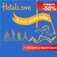 Hotels.com : 72h de Ventes flash avec 50% de réduction sur une sélection d'Hôtels