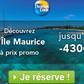 THOMAS COOK : Remise pour l'île Maurice jusqu'à 430 euros de réduction par personnne