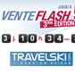 TRAVELSKI : Vente flash avec des offres ski à moins 50%