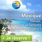 THOMAS COOK : Séjour au Mexique à moins de 1000 euros