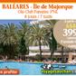 VOYAGES AUCHAN : Séjour au Baléares à Majorque en formule TOUT COMPRIS à partir de 399 euros