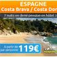 VOYAGES AUCHAN : Séjour en Espagne en demi pension à partir de 119 euros par personne