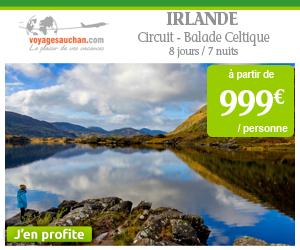 Circuit en Irlande à partir de 999€ par personne avec Voyages Auchan
