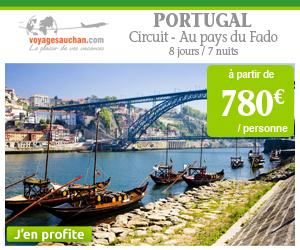 Circuit au PORTUGAL à partir de 780€ par personne avec Voyages Auchan