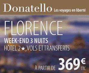 Un séjour à Florence avec Donatello !
