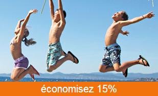 Code promo 15% de réduction sur votre location Maeva saison été