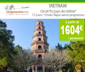 Voyages Auchan : Circuit au Pays des rizières – le Vietnam