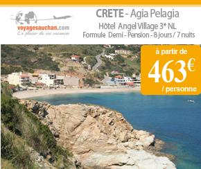 Voyages Auchan : Séjour en Crète