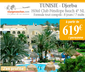 Voyages Auchan : Séjour en Tunisie